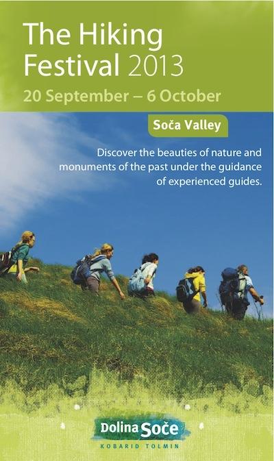 Hiking Festival in Soča Valley, TIC