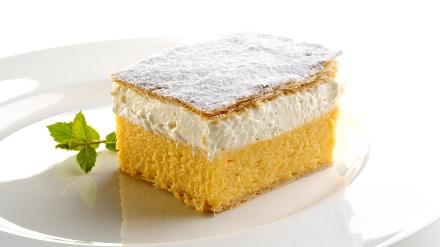 Kremsnita, le célèbre dessert de Bled