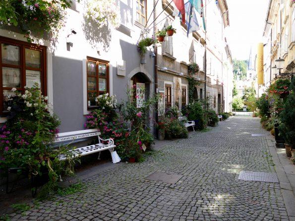 Une ruelle de Ljubljana
